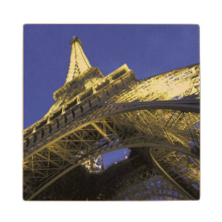 Europe, France, Paris, Eiffel Tower, evening 2 Wood Coaster