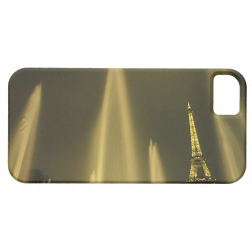 Europe, France, Paris, Eiffel Tower, evening iPhone 5 Covers