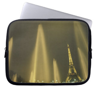 Europe, France, Paris, Eiffel Tower, evening Computer Sleeves