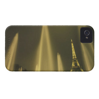 Europe, France, Paris, Eiffel Tower, evening iPhone 4 Case-Mate Case