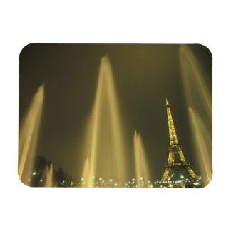 Europe, France, Paris, Eiffel Tower, evening Flexible Magnet