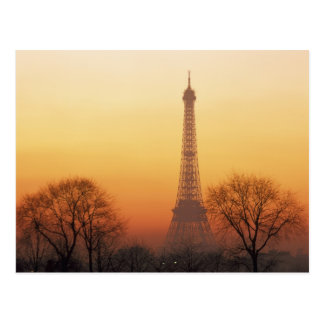 Europe, France, Paris. Eiffel Tower (Medium Postcard