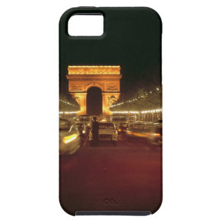 Europe, France, Paris. Evening traffic rushes iPhone 5 Cover