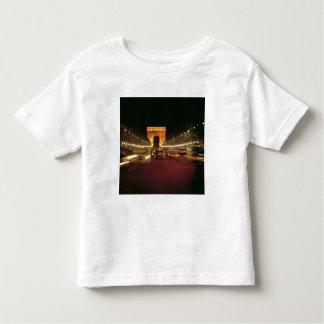 Europe, France, Paris. Evening traffic rushes T-shirt