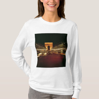 Europe, France, Paris. Evening traffic rushes T-Shirt