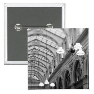 Europe, France, Paris. Interior, Galerie 15 Cm Square Badge
