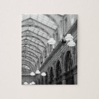 Europe, France, Paris. Interior, Galerie Jigsaw Puzzle