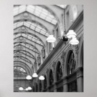 Europe, France, Paris. Interior, Galerie Poster
