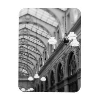 Europe, France, Paris. Interior, Galerie Rectangular Photo Magnet
