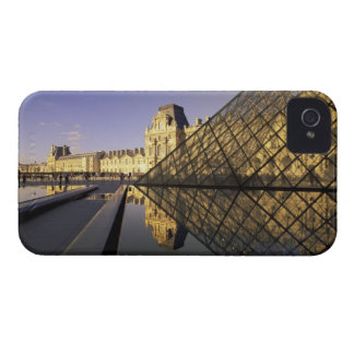 Europe, France, Paris. Le Louvre and glass iPhone 4 Covers