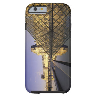 Europe, France, Paris. Le Louvre and glass Tough iPhone 6 Case