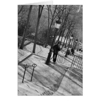 Europe, France, Paris, Montmartre: Morning on Card