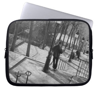 Europe, France, Paris, Montmartre: Morning on Laptop Sleeve