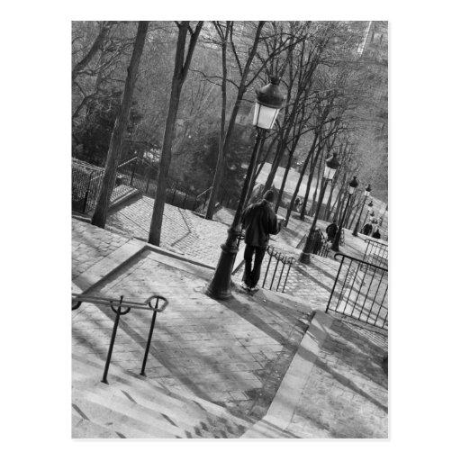 Europe, France, Paris, Montmartre: Morning on Postcards