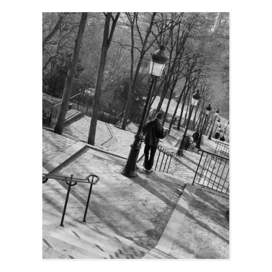 Europe, France, Paris, Montmartre: Morning on Postcard