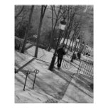 Europe, France, Paris, Montmartre: Morning on Posters
