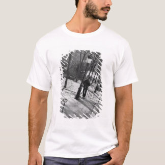 Europe, France, Paris, Montmartre: Morning on T-Shirt