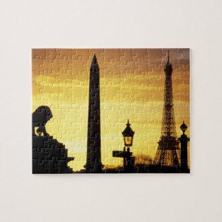 Europe, France, Paris, Place de Concorde. Puzzle