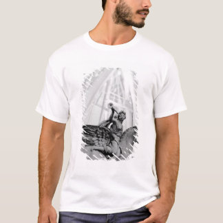 Europe, France, Paris. Statue and Ferris Wheel, 2 T-Shirt