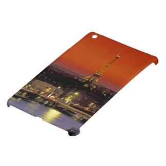 Europe, France, Paris. Sunset view of Eiffel iPad Mini Cover