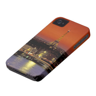 Europe, France, Paris. Sunset view of Eiffel iPhone 4 Case-Mate Case