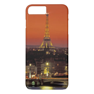 Europe, France, Paris. Sunset view of Eiffel iPhone 8 Plus/7 Plus Case