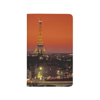 Europe, France, Paris. Sunset view of Eiffel Journal