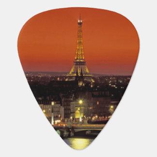 Europe, France, Paris. Sunset view of Eiffel Plectrum