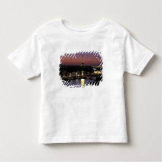 Europe, France, Paris, Sunset view of Eiffel Toddler T-Shirt