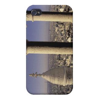 Europe, France, Paris, View of Paris through Cover For iPhone 4