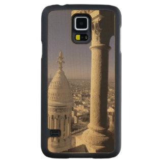 Europe, France, Paris, View of Paris through Maple Galaxy S5 Case