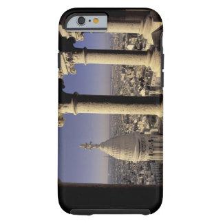 Europe, France, Paris, View of Paris through Tough iPhone 6 Case