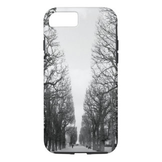 Europe, France, Paris. Winter trees, Marco Polo iPhone 8/7 Case