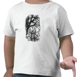 Europe, France, Paris. Winter trees, Marco T Shirts
