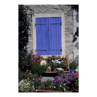 Europe, France, Provence, Aix-en-Provence. Poster