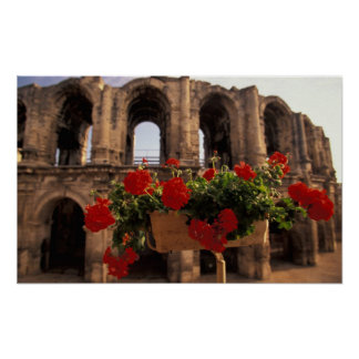 Europe, France, Provence, Arles, Bouches, du, Poster