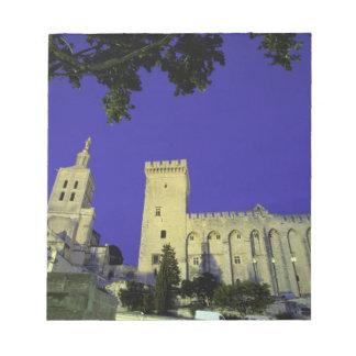 Europe, France, Provence, Avignon. Palais des Notepad