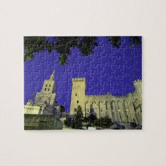 Europe, France, Provence, Avignon. Palais des Puzzle