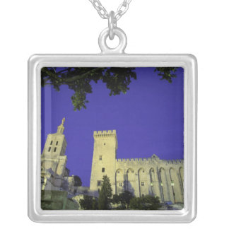 Europe, France, Provence, Avignon. Palais des Silver Plated Necklace