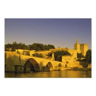 Europe, France, Provence, Avignon. Pont St, 2 Photo Print