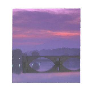 Europe, France, Provence, Avignon. Pont St, Notepad