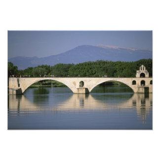 Europe, France, Provence, Avignon. Pont St, Photo Print