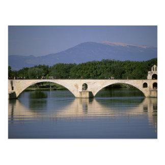 Europe, France, Provence, Avignon. Pont St, Postcard