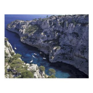 Europe, France, Provence, Calanques. Limestone Postcard
