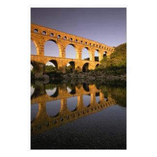 Europe, France, Provence, Gard. Pont du Gard, Photo Print
