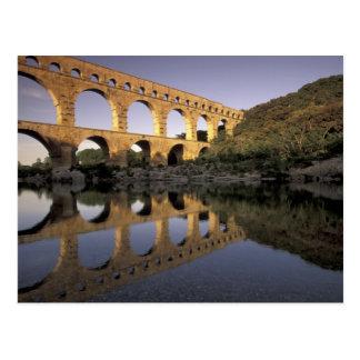 Europe, France, Provence, Gard; Pont du Gard, Postcard