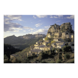 Europe, France, Provence, La Roque Alric, Photo Print