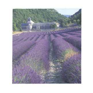 Europe, France, Provence. Lavander fields Notepad