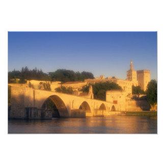 Europe, France, Provence, Vaucluse, Avignon. Photo Print