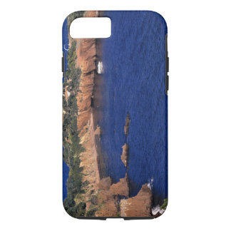 Europe, France, Theoule-sur-Mer. A tile-roofed iPhone 8/7 Case